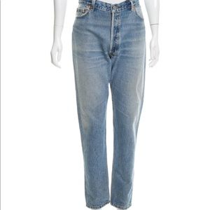 Re/Done Levi's Skinny High Rise Jeans light wash